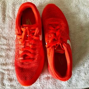 Red Nike Airs-great condition!